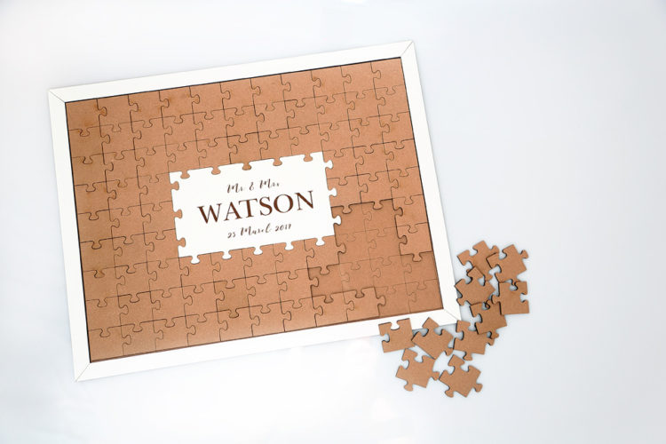 80 pc Wedding Puzzle